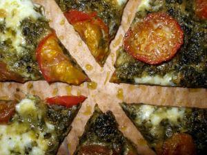 chimichurri pizza