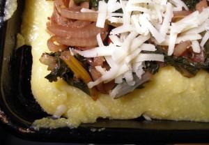 cheesy baked polenta