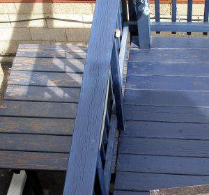 little blue deck