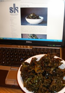smitten kitchen kale chips