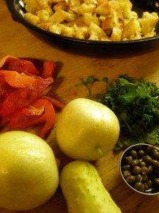 Moroccan Bread Salad