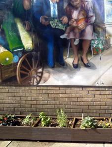 Fabric Row Guerrilla Garden