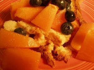 Charentais and Cake